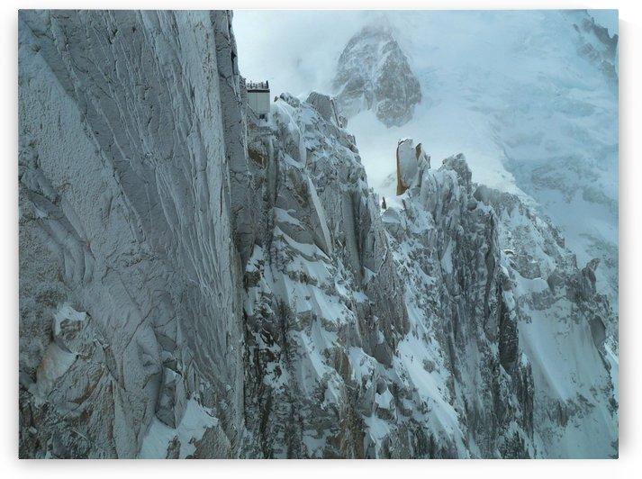 Aiguille du Midi Mount Blanc by Frank Wilson