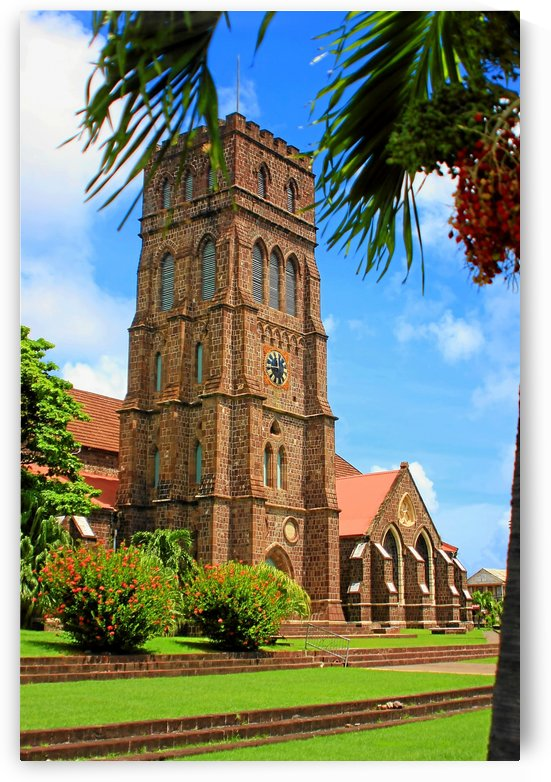 St Kitts St Georges Anglican Church by Keethton J France