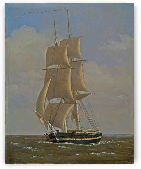 Danish naval brick by Christoffer Wilhelm Eckersberg