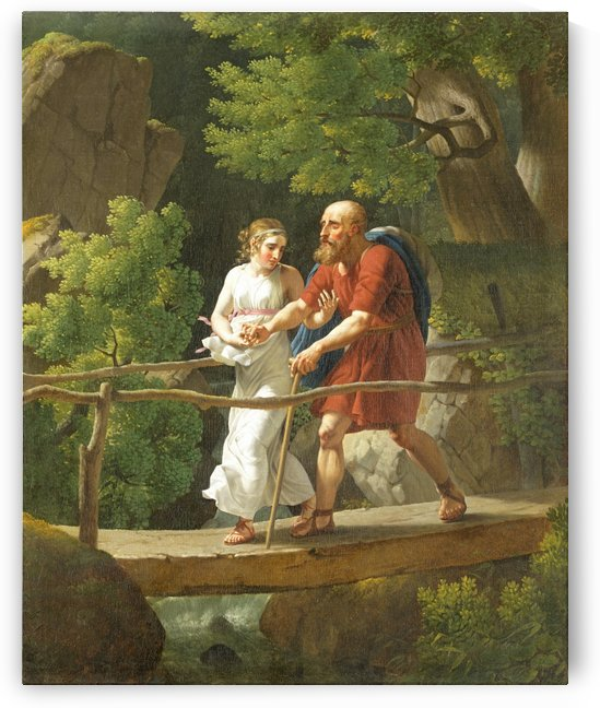 Oedipus and Antigone by Christoffer Wilhelm Eckersberg