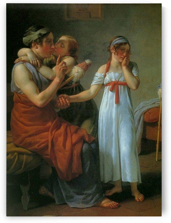La bonne mere by Christoffer Wilhelm Eckersberg