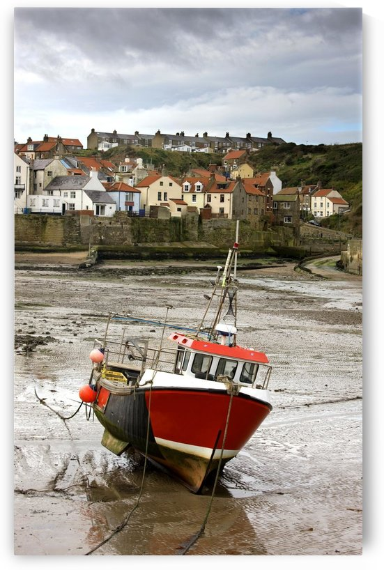 Staithes, North Yorkshire, England by PacificStock