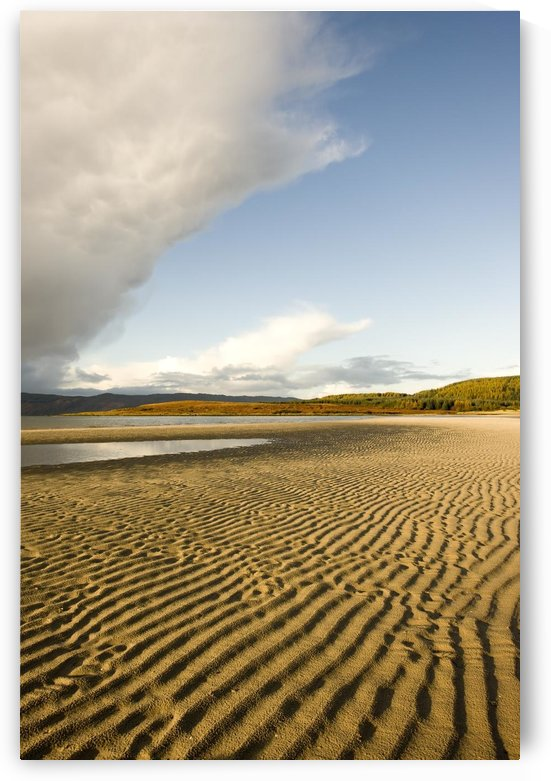 Rippled Sand On A Beach, Argyll And Bute, Scotland by PacificStock