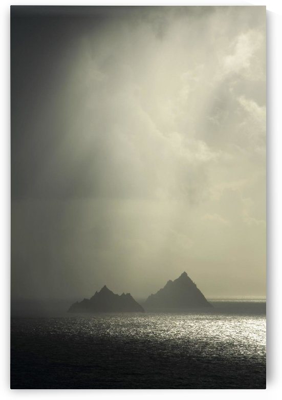 Skellig Islands, Co Kerry, Ireland; Islands In A Rain Shower by PacificStock