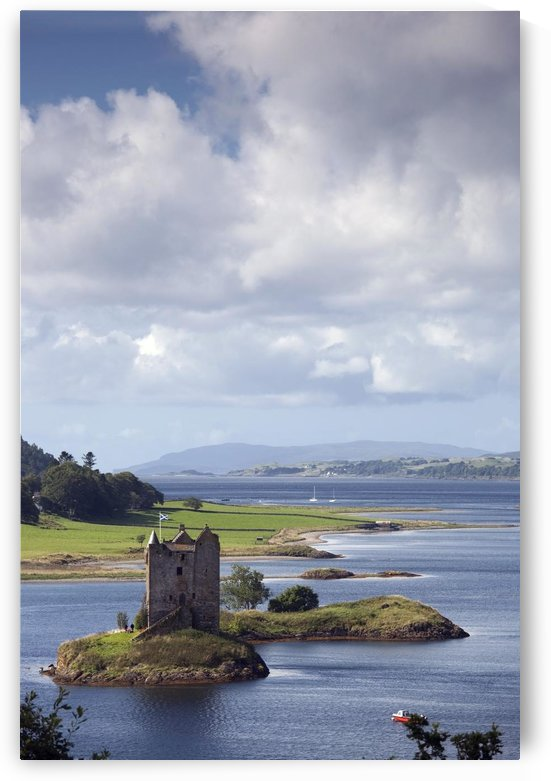 Castle Stalker, Argyll, Scotland by PacificStock