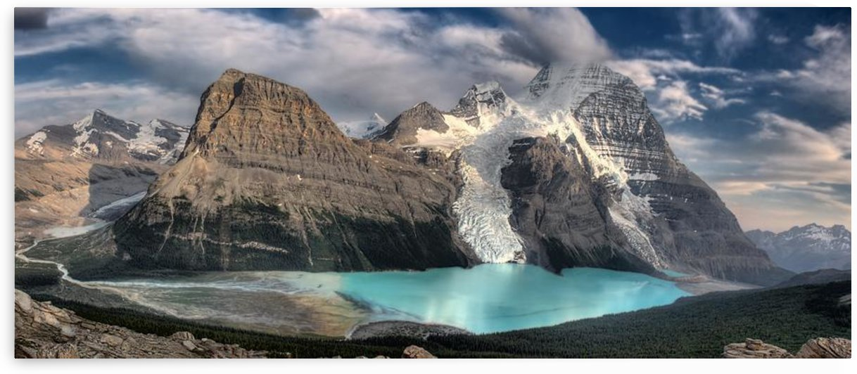 Berg Lake, Mount Robson Provincial Park; Mount Robson Provincial Park,British Columbia,Canada by PacificStock