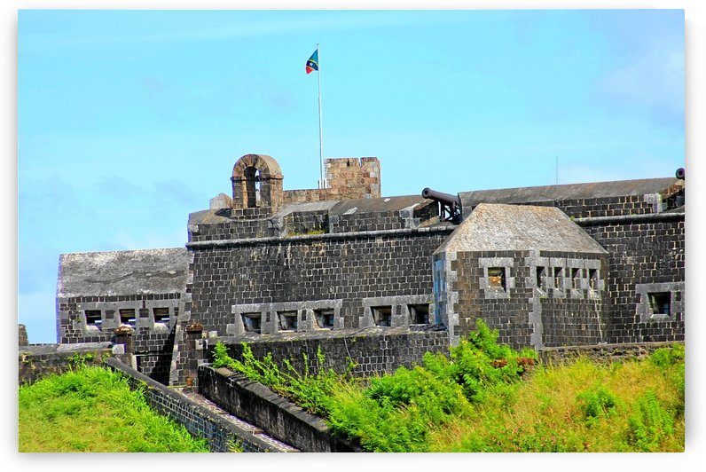 St Kitts Brimstone Hill by Keethton J France