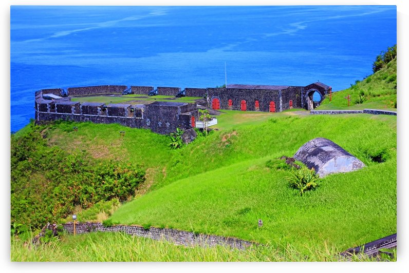St Kitts Brimstone Hill by Keethton J France