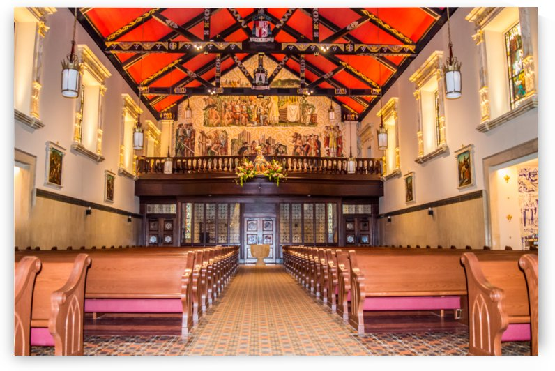 Cathedral Basilica of Saint Augustine by Melody Rossi