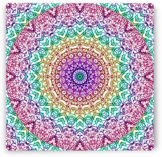 Mandala Mehndi Style G379 by Medusa GraphicArt