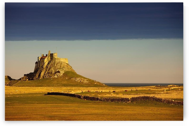 Lindisfarne, Northumberland, England; A Castle On The Tidal Island Also Known As Holy Island by PacificStock