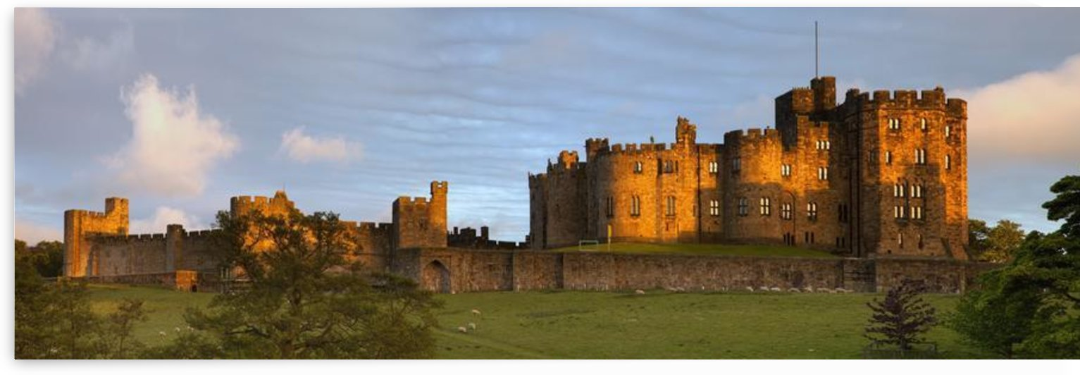 Alnwick Castle; Alnwick, Northumberland, England by PacificStock