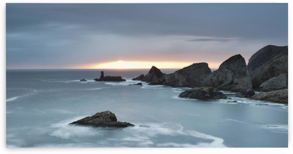 Coastline At Sunset; County Donegal, Ireland by PacificStock