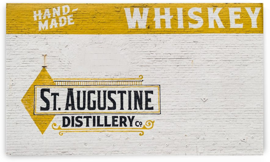 St. Augustine Distillery Sign  by Melody Rossi