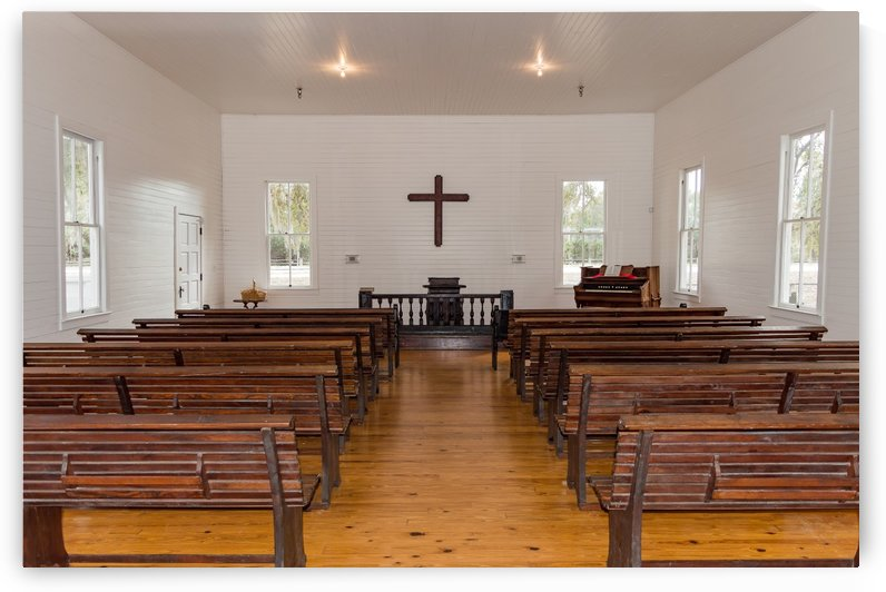 Historic Safety Harbor Church  by Melody Rossi