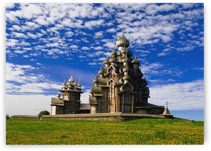 Transfiguration Cathedral On Kizhi Island by PacificStock