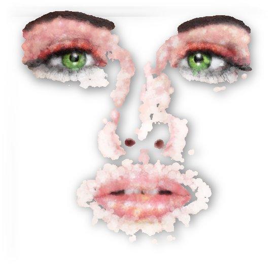 Kessania - white face by Cersatti Art