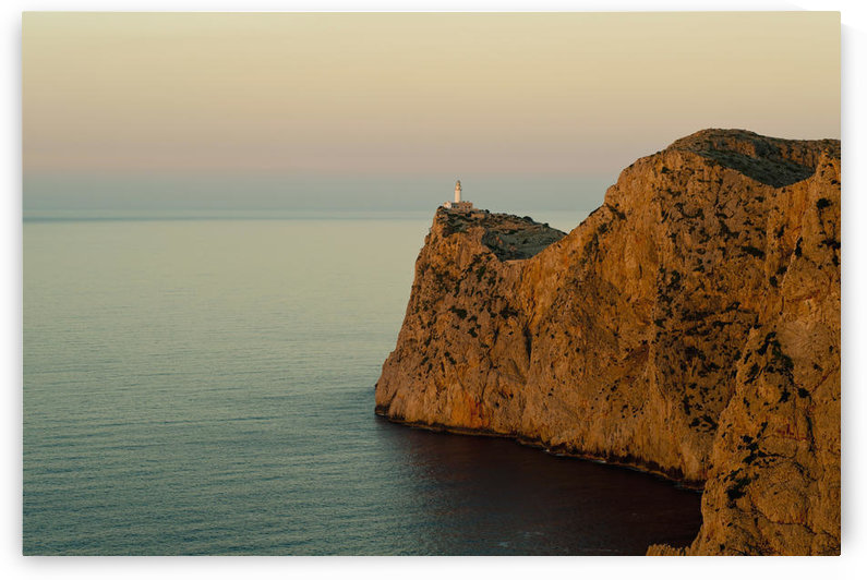 Views Of The Lighthouse At Sunset, Cap De Formentor, Mallorca, Balearic Islands, Spain by PacificStock