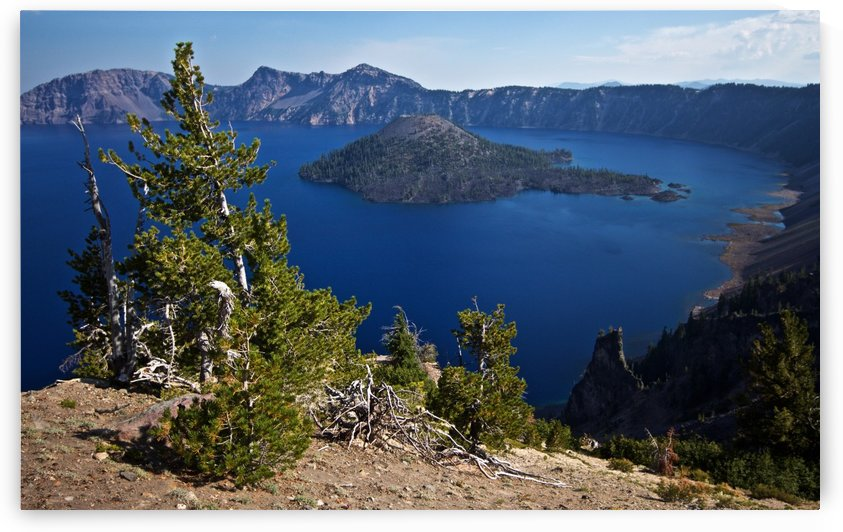 Crater Lake Scenic Aug, 2015 by Craig Nowell Stott