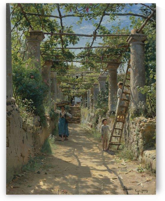 Capri, Italy, 1884 by Peter Mork Monsted