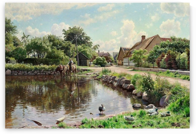 In the country by Peter Mork Monsted