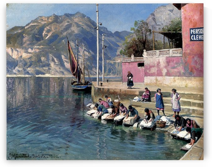 Washer Women Torbole by Peter Mork Monsted