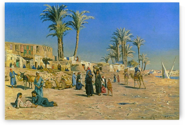 In the outskirts of Cairo by Peter Mork Monsted