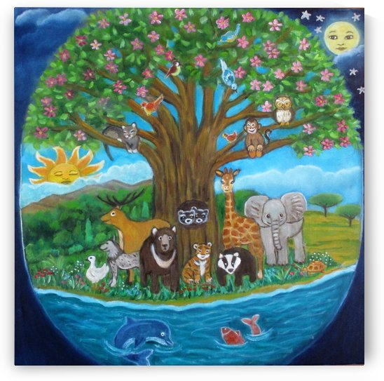tree of life by Gloria Gill