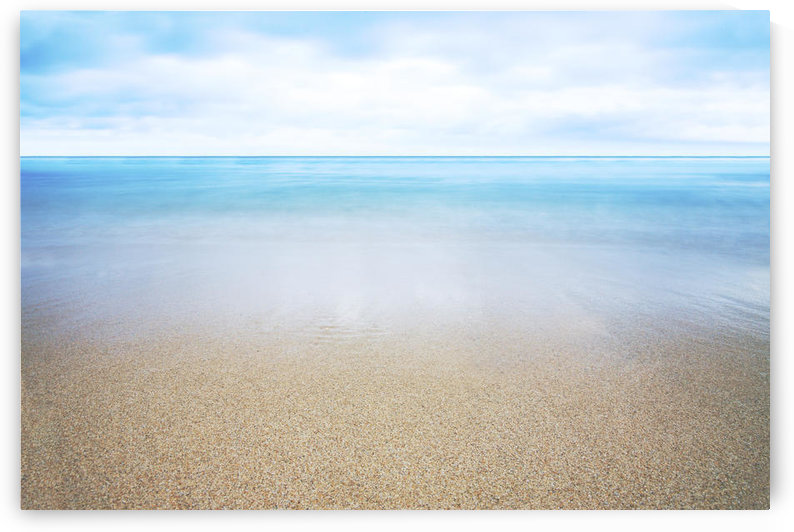 Hawaii, Oahu, Beautiful Seascape Of The Ocean And Sand. by PacificStock