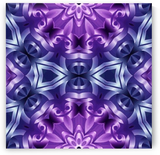 kaleidoscope Flower G98 by Medusa GraphicArt