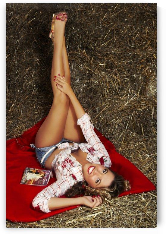 Lou Freeman© Vintage Pin Up  Girl 014749 by Lou Freeman
