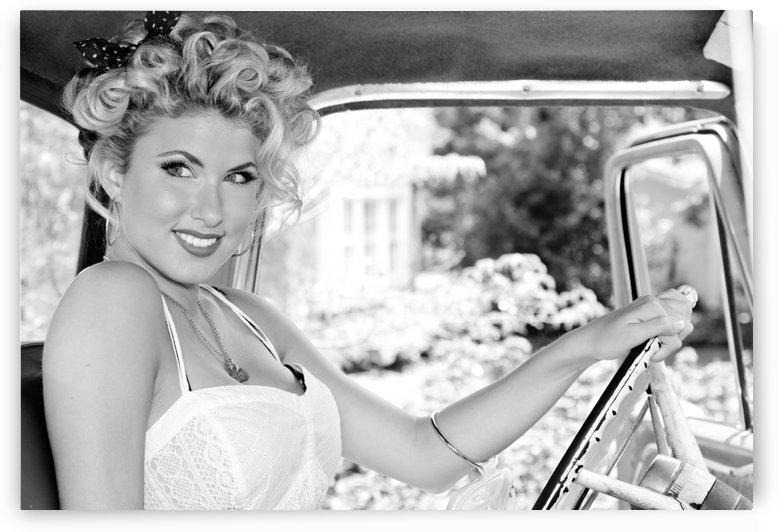 ©Lou Freeman Dark Glamour & Beauty Black & White    77 by Lou Freeman