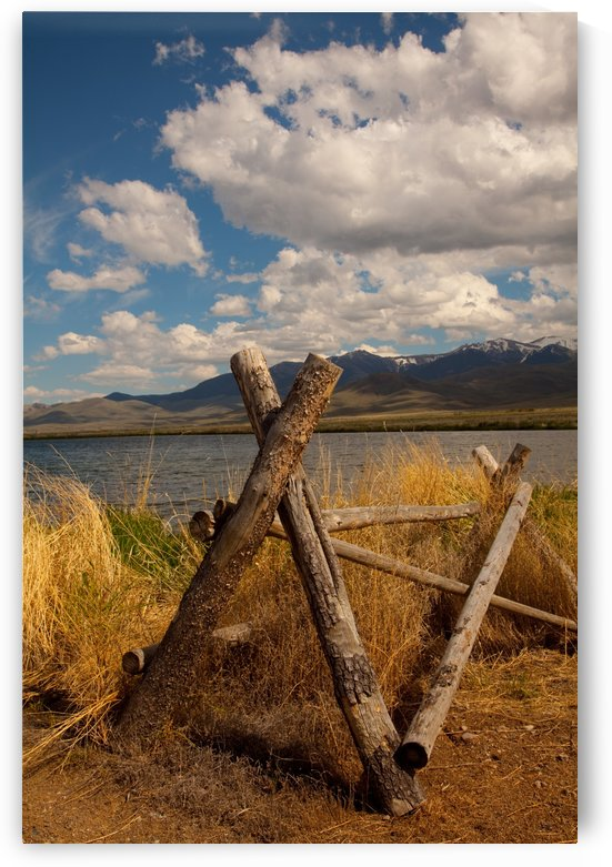 ©Lou Freeman Wild West Landscape 1020 40 by Lou Freeman