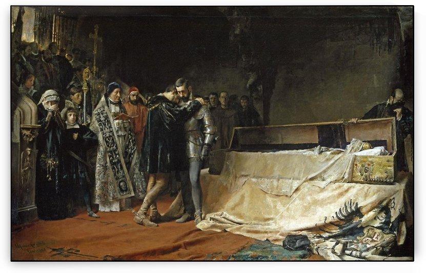 The Funeral by Jose Moreno Carbonero