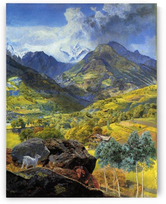 Val d'Aosta 1858 by John Brett