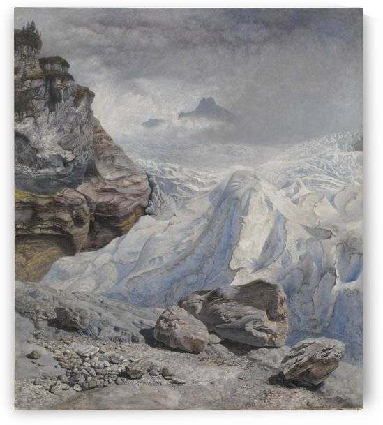Glacier of Rosenlaui by John Brett