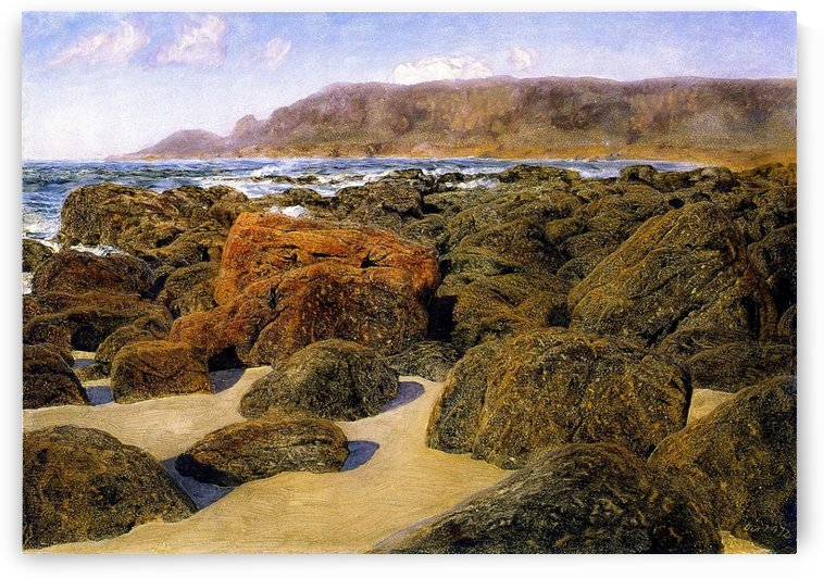 Cape Cornwall from Whitesand Bay by John Brett