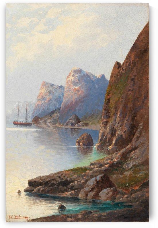 Fjordlanschaft by Karl Kaufmann