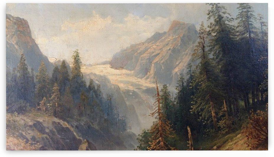 Alpines Landschaftsgemaelde by Karl Kaufmann