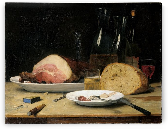 Still life Excess 1896 by Anker Albert
