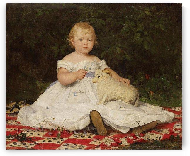 Bildnis Emilie Weiss 1868 by Anker Albert