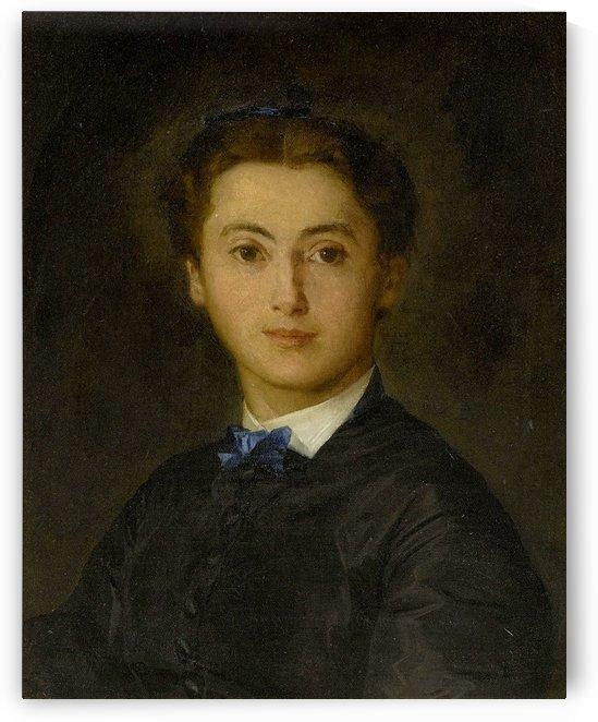 Bildnis Therese von Wyttenbach-von Fischer, 1869 by Anker Albert
