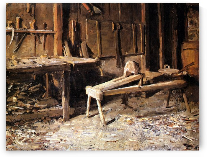 Peasant's Workshop by Anker Albert