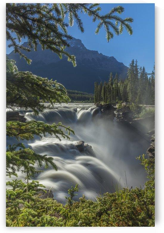 Athabasca Falls by Palwall Photoart