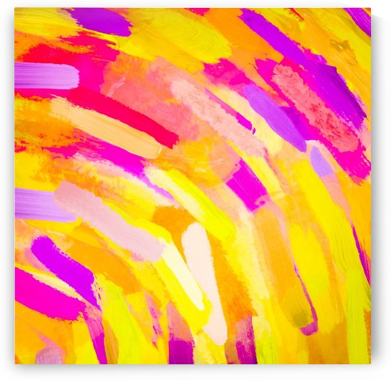 graffiti painting texture abstract in yellow pink purple by TimmyLA