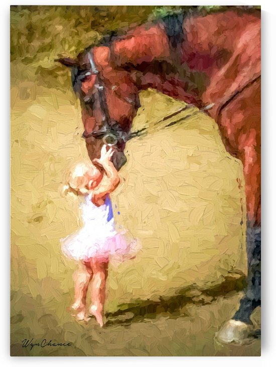 Ballerina Kisses by A WYN CHANCE