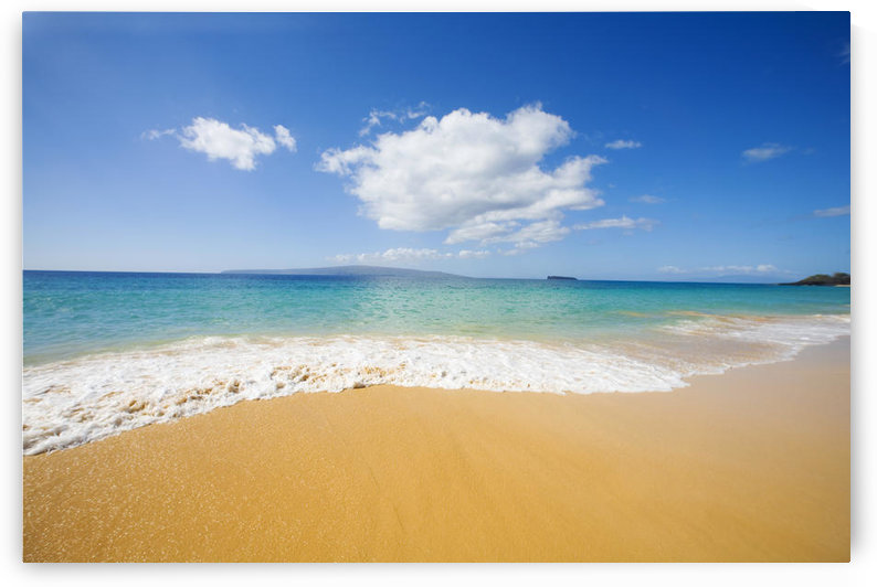 USA, Hawaii Islands, Maui, Big Beach; Makena by PacificStock