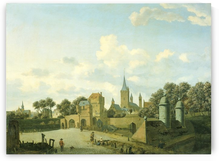 The church of St. Severin in Cologne by Adriaen van de Velde