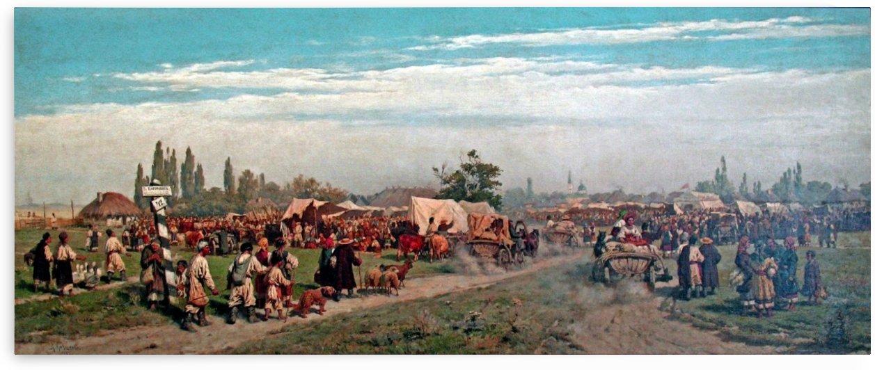 Fair in the Ukraine by Alexei Danilovich Kivshenko