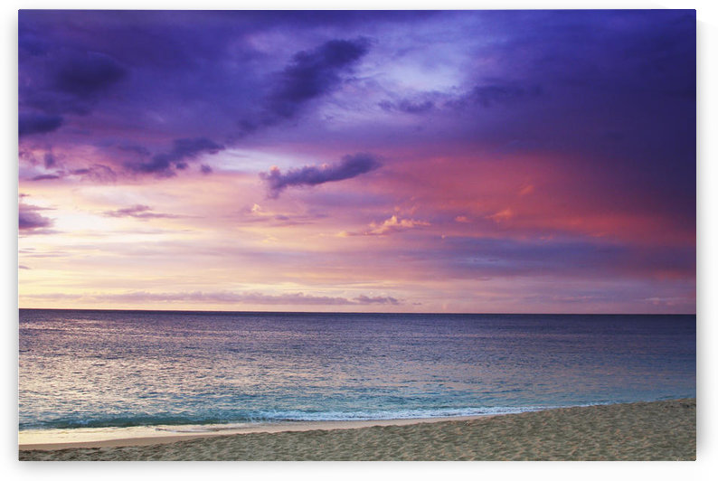 USA, Hawaii, Oahu, Sunset On Beach; North Shore by PacificStock